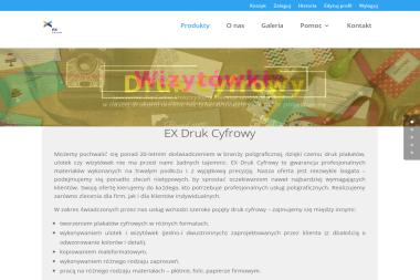 EX Druk Cyfrowy - Druk Wizytówek Wrocław