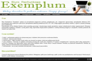 Exemplum Biuro Rachunkowe Sowińska Grażyna - Biuro rachunkowe Tychy