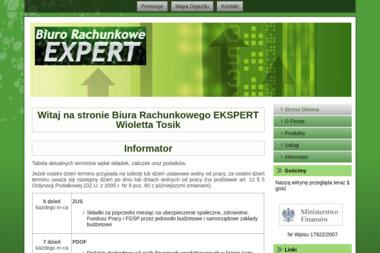 Biuro Rachunkowe Expert Wioletta Tosik - Finanse Łowicz