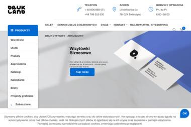 Agencja Wydawniczo Reklamowa Drukarnia Mirosława Bartoszewska - Druk katalogów i folderów Koszalin