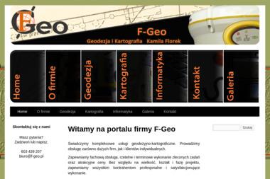 PU F-Geo. Geodezja i Kartografia Kamila Florek - Geodeta Strzelce Opolskie