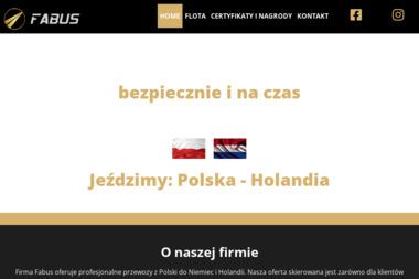 Fabus Dzieran Łukasz - Firma transportowa Konin