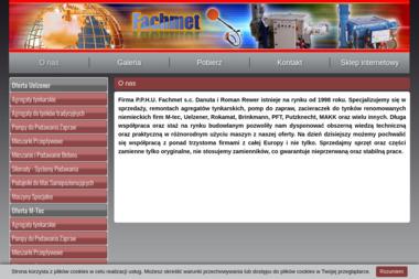 PPHU Fachmet Import Export Danuta i Roman Rewer - Okna Bralin