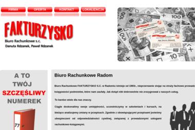 Fakturzysko Biuro Rachunkowe S.C. Danuta Rdzanek Paweł Rdzanek - Biuro rachunkowe Radom