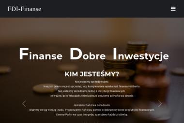 FDI Finanse. Doradztwo finansowe, porady finansowe, consulting - Ubezpieczenia na życie Tarnów