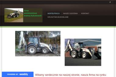 FW Andrzej Kuliczkowski. Usługi koparką, wynajem - Układanie Kostki Brukowej Reńska Wieś