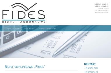 Fides Biuro Rachunkowe - Biuro rachunkowe Sosnowiec