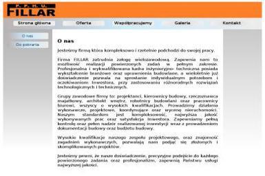 PPHU Fillar - Projektowanie wnętrz Bełchatów