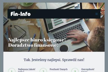 Fin Info Biuro Rachunkowe Urszula Bieniek - Usługi finansowe Płock
