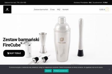 Fire cube - Projektowanie Mieszkań Częstochowa