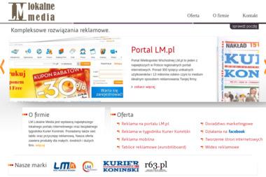 Lm Lokalne Media Sp. z o.o. - Tworzenie Stron Internetowych Konin