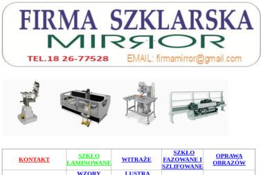 Zakład Szklarski Mirror Myśliwy Adam - Szklarz Rabka-Zdrój