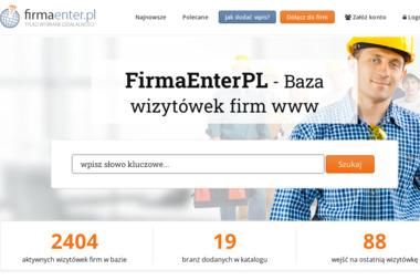 Enter - Strony internetowe Biłgoraj