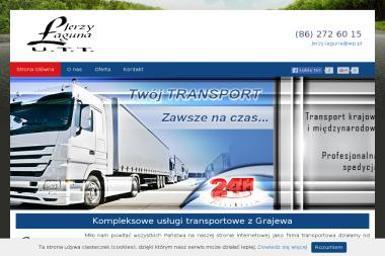 Jerzy Łaguna - Firma transportowa Grajewo