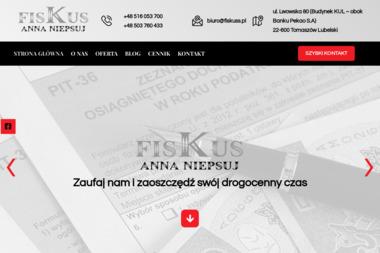 Biuro Rachunkowe FISKUS Anna Niepsuj - Usługi finansowe Tomaszów Lubelski