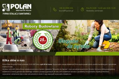 Krzysztof Polak Firma Instalacji Sanitarnej Polan - Hydraulik Praszka