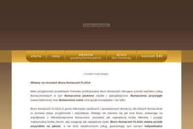 Biuro Tłumaczeń Flaga. Tłumaczenia przysięgłe, tłumaczenia pisemne - Tłumacz Języka Angielskiego Milicz