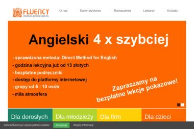 Fluency - Centrum Języków Obcych. Kursy językowe, szkolenia językowe, tłumaczenia - Kurs niemieckiego Skawina