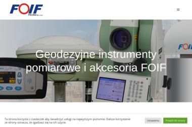 FOIF Polska Sp. z o.o. - Geodeta Gliwice