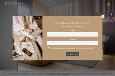 FOORMA Pracownia Architektury Wnętrz - Projekty Mieszkań Bieruń
