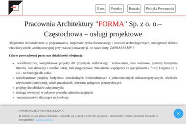 Pracownia Architektury Forma Sp. z o.o. - Projektowanie Domów Blachownia