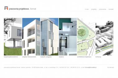 Pracownia Projektowa Format Bartosz Zaremba - Projekty Domów Jednorodzinnych Bielsko-Biała