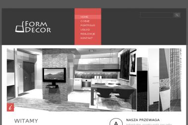 FormDecor. Aranżacje wnętrz, projekty wnętrz - Architekt Dębe