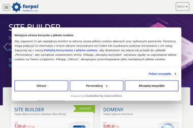 Alphanet Sp. z o.o. - Strony WWW Sosnowiec