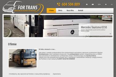 For Trans - Przewóz Osób Busem Pruszków