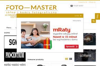 Sklep Fotograficzny Foto-Master Komis Sprzętu Foto-Video. Elżbieta Bielak - Zdjęcia do dokumentów Wrocław