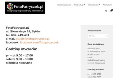 FotoPatryczek - Strony internetowe Bytów