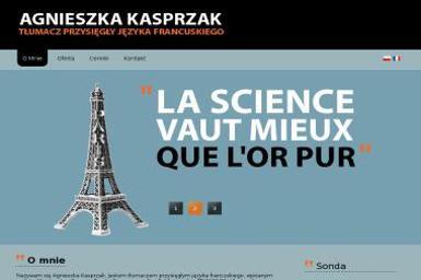Biuro Tłumacza Języka Francuskiego Kasprzak Agnieszka - Tłumacze Koło
