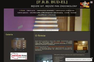 Firma Remontowo Budowlana Bud El Maciej Marzol Nazwa Skrócona F R B Bud El - Murowanie ścian Bełchatów
