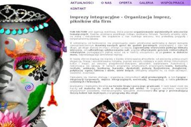 Agencja Artystyczno Promocyjna Fun Factory Diana Stęgierska - Strony internetowe Kraśnik