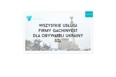 Gach Invest Piotr Gach - Drukarnia Głuchołazy