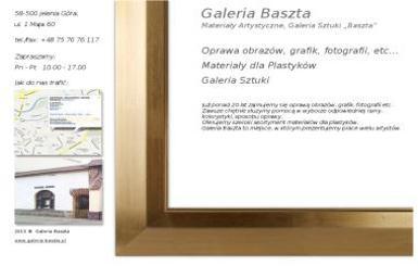 Materiały Artystyczne Galeria Sztuki Baszta Lipińska Barbara - Skład węgla Jelenia Góra