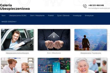 GaleriaUbezpieczeniowa.pl. Ubezpieczenia, ubezpieczenia oc - Ubezpieczenia Na Życie Ożarów Mazowiecki