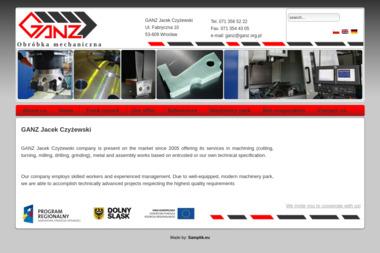 GANZ Jacek Czyżewski - Obróbka Metali Wrocław