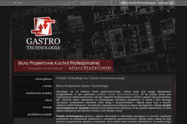 Gastro Technologia Biuro Projektowe Kuchni Profesjonalnej Adam Rządkowski - Architekt wnętrz Piaseczno
