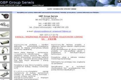 Gbp Group Serwis Budniak Przemysław - Strona Internetowa Stawiska