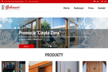 GEBAUER Okna, Drzwi, Okiennice - Autoryzowany Punkt Sprzedaży - Okna Aluminiowe Stalowa Wola
