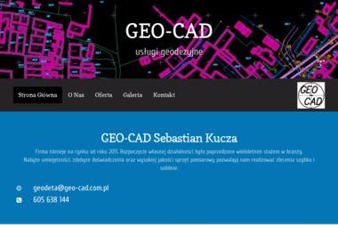 Geo-Cad. Usługi geodezyjne - Geodezja Łężyca