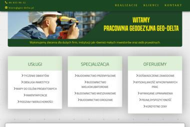 Pracownia Geodezyjna Delta. Adrian Cichoń - Geodezja Skierniewice
