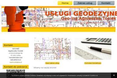 Geo-Inż Agnieszka Tosiek. Usługi Geodezyjne - Geodeta Zelów