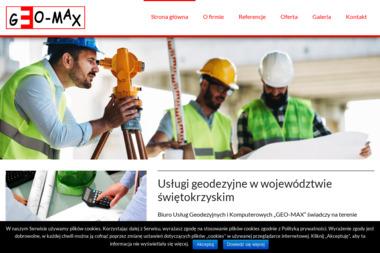 Biuro Usług Geodezyjnych i Komputerowych Geo Max Foltyn Mariusz - Geodeta Kielce