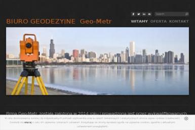 Geo - Metr Usługi Geodezyjne Łukasz Lendzion. Pomiary, Mapy - Geodezja Łuków