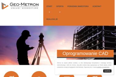 Geo-Metron Usługi Geodezyjne - Usługi Geodezyjne Bełchatów