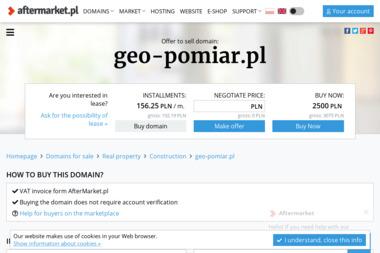 Geo-Pomiar Usługi Geodezyjne Bartosz Gruza. Usługi geodezyjne, geodeta, geodezja - Ewidencja Gruntów Pruszcz Gdański