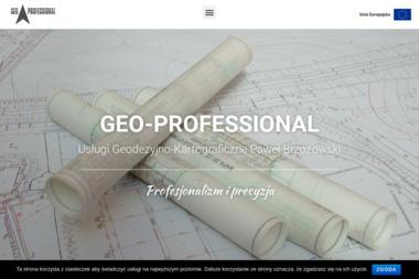Geo Professional Usługi Geodezyjno Kartograficzne Paweł Brzozowski - Geodeta Tczew