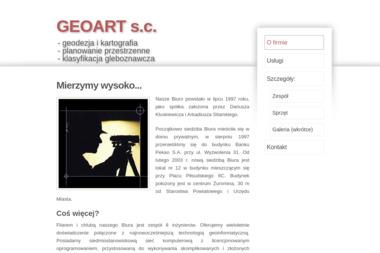 Biuro Usług Geodezyjnych i Kartograficznych Geoart S.C. Kluskiewicz D Sitarski A - Ewidencja Gruntów Żuromin